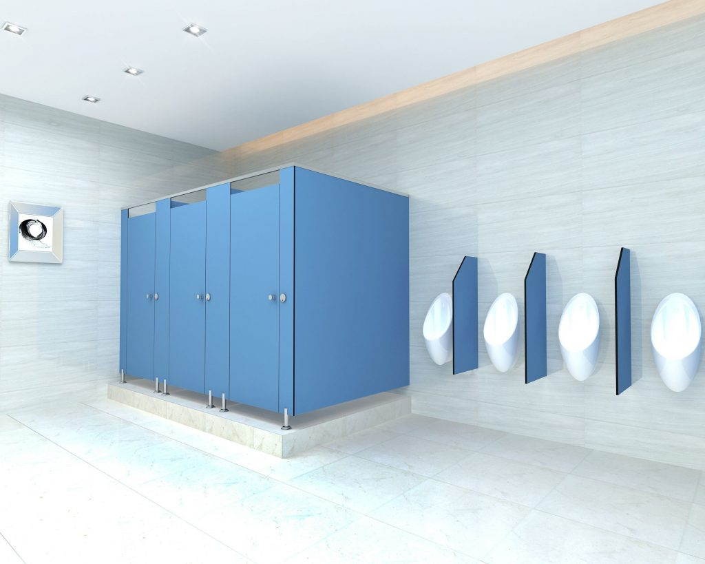 Основные аспекты при подборе сантехнических перегородок